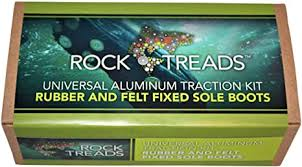 Rock Treads Rubber and Felt Fixed Soles Kit