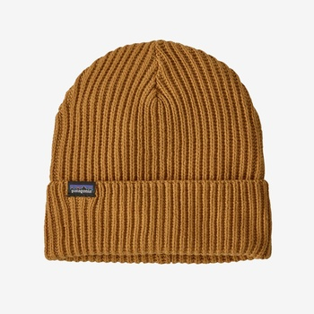 Patagonia Fisherman Rolled Beanie Buckwheat Gold