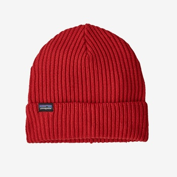Patagonia Fisherman Rolled Beanie Hot Ember