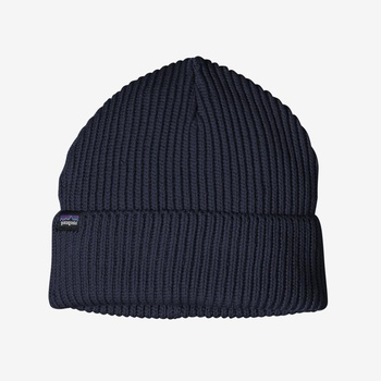 Patagonia Fisherman Rolled Beanie Navy Blue