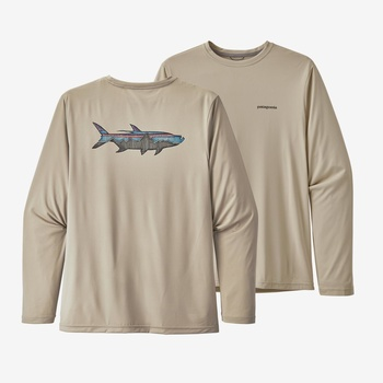 Patagonia Long Sleeve Cap Cool Tarpon Shirt