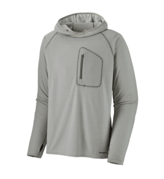Patagonia Sunshade Technical Hoody Tailored Grey