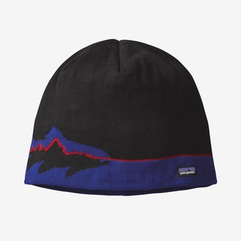 Patagonia Beanie Hat Fitz Trout: Black