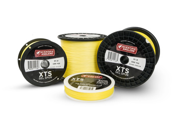 SA XTS Gel Spun Backing Yellow 50lb