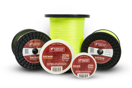 SA Backing Yellow - 250 yd 30lb