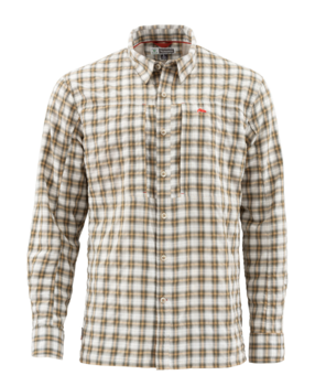 Simms BugStopper Shirt Plaid Cork Plaid