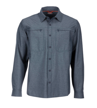 Simms Prewett Stretch Woven Shirt Dark Moon