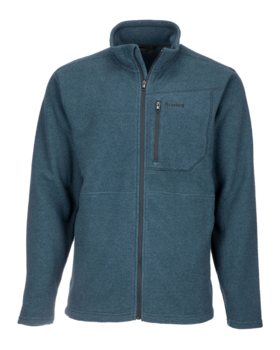 Simms Rivershed Full Zip Dark Moon