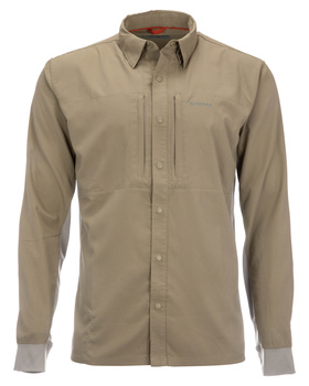 Simms BugStopper Intruder BiComp Shirt Tan