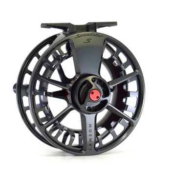 Lamson Speedster HD Flugrulle Dark Smoke