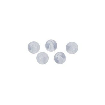 Berkley Fusion19 Transparent Glass Beads 5mm - 5-pack