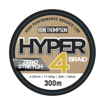 Ron Thompson Hyper 4-Braid 300m Yellow