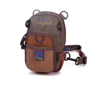 Fishpond San Juan Vertical Chest Pack Sand Saddle Brown