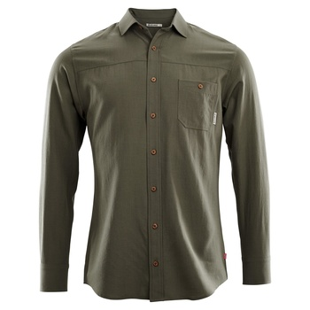 Aclima Wool Woven Wool Shirt Men Ranger Green
