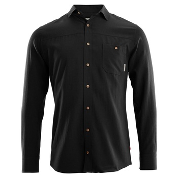 Aclima Wool Woven Wool Shirt Men Jet Black