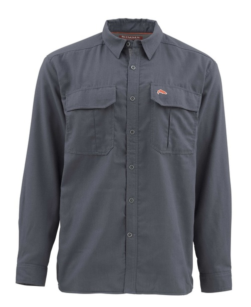 Simms Coldweather Skjorta Oxford Blue - S