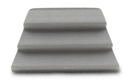 Simms Fractal Fly Patch Grey