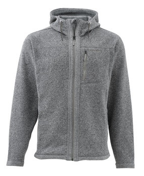 Simms Rivershed Full Zip Hoody Smoke