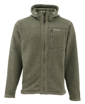 Simms Rivershed Full Zip Hoody Loden
