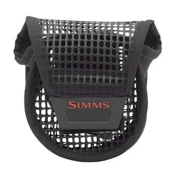 Simms Bounty Hunter Mesh Reel Pouch Black Small