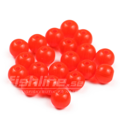 Articulated Beads - Fluo Salmon Red