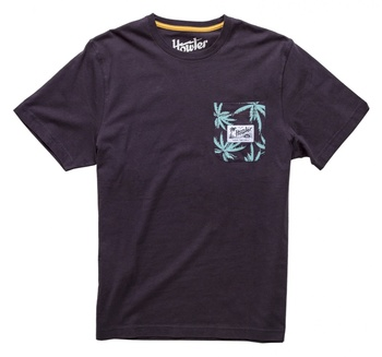 Howler Bros T-Shirt Antique Black Palm Pocket