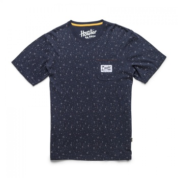 Howler Bros T-Shirt Archipelego Dot: Deep Blue