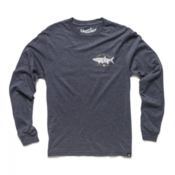 Howler Bros Longsleeve T Silver King - Charcoal