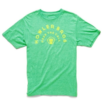 Howler Bros T-Shirt Arch Green Heather