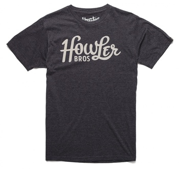 Howler Bros T-Shirt  Classic Charcoal Heather