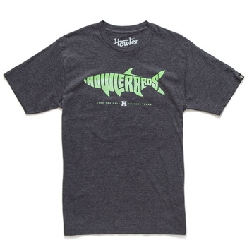 Howler Bros T-Shirt Silver King Charcoal Heather
