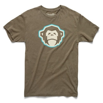 Howler Bros T-Shirt El Mono Military Green