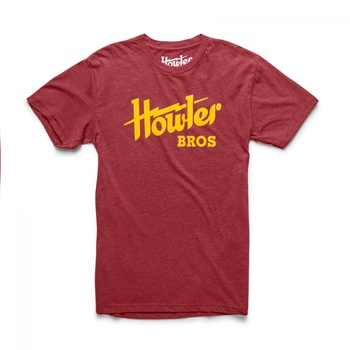 Howler Bros T-Shirt Electric Cardinal