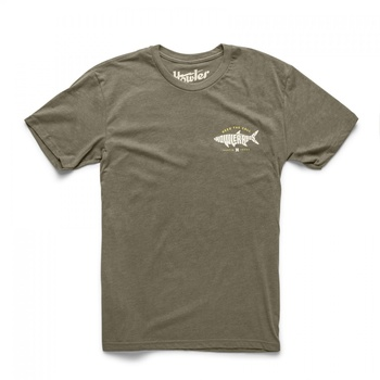 Howler Bros T-Shirt Silver King Military Green