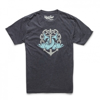 Howler Bros T-Shirt Snook Charcoal