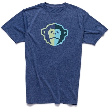 Howler Bros El Mono Station Blue Heather T-Shirt