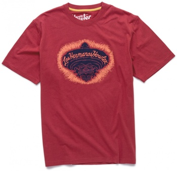 Howler Bros T-shirt Chango Red