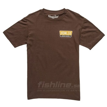 Howler Bros T-shirt Hi Watt Brown