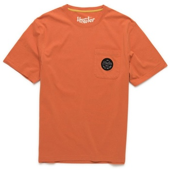 Howler Bros Script Pocket T High Orange T-Shirt