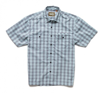 Howler Bros Aransas SS Palaka Plaid Surfmist/Grey