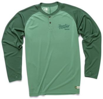 Howler Bros Loggerhead Shirt Pine/Midnight Green