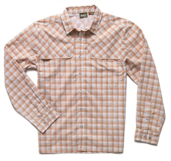 Howler Bros Pescador Shirt Tyson Plaid Fuzzy Navel