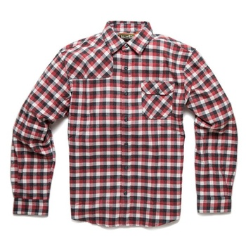 Howler Bros Harker's Flanell Alturas Plaid Red