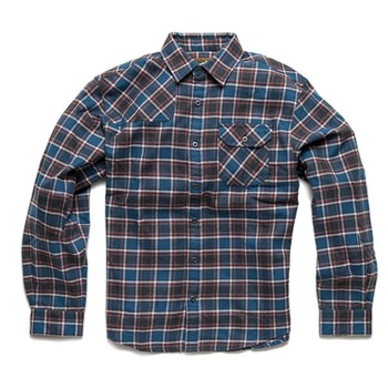 Howler Bros Harker's Flanell Manifest Plaid Heather Black