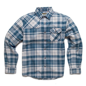 Howler Bros Harker's Flanell Mueller Plaid Day Blue