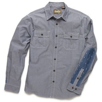 Howler Bros Workman's Shirt Blue Oxford