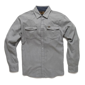 Howler Bros Stockman Flannel Deepest Dove Heather
