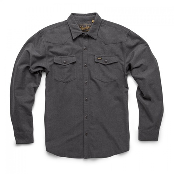 Howler Bros Stockman Chamois Shirt- Pavement