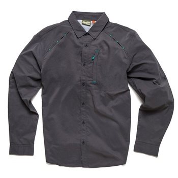 Howler Bros Arroyo Tech Shirt Kingsford Grey Microstripe