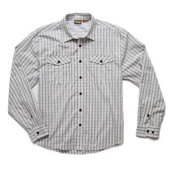 Howler Bros Paniolo Shirt Lockhart Plaid Offwhite